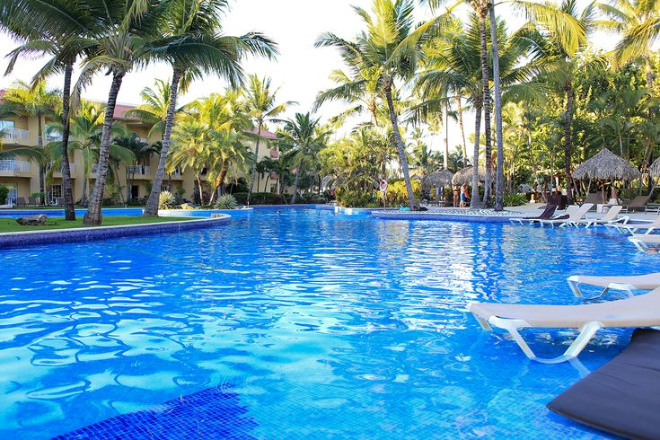 A photograph cannot do justice to the pool at Dreams Punta Cana. It's the best we've been in.