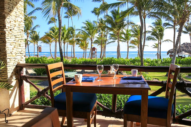 Oceana has the best view of any restaurant on the resort. It is especially nice during morning hours.