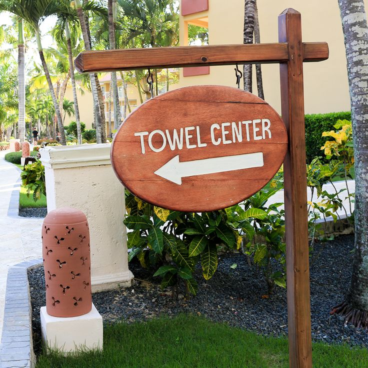 Towel service isn't great at Dreams Punta Cana.