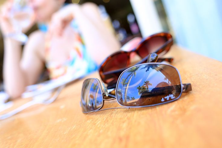 We keep a printed travel checklist in our suitcase so we don't forget basic items like sunglasses.