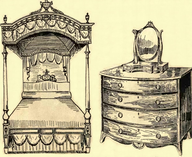 Hepplewhite bed and chest of drawers.jpg