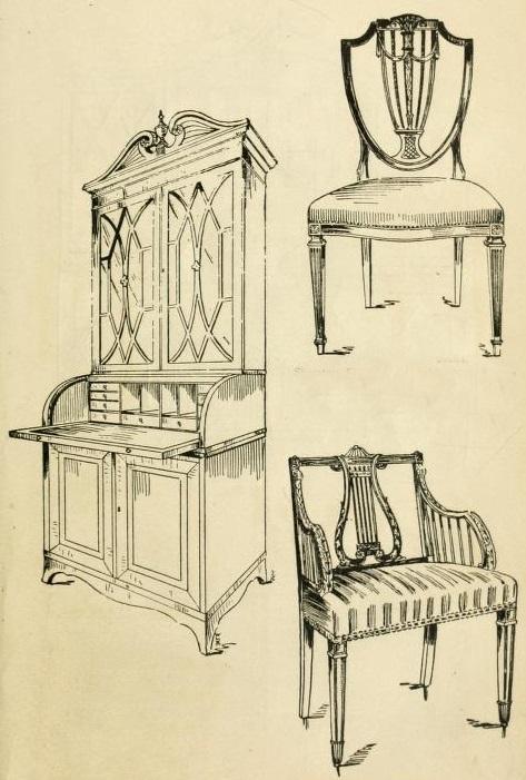 Sheraton Secretary and Chairs.jpg