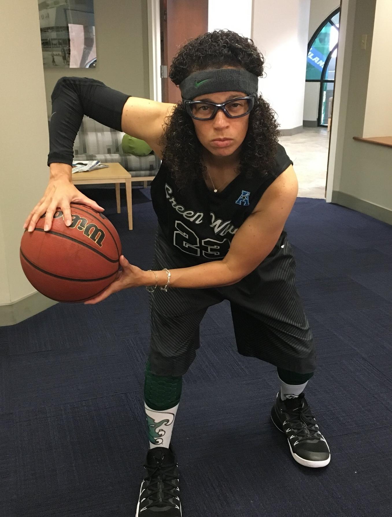 2018 Halloween as Tulane basketball player #23