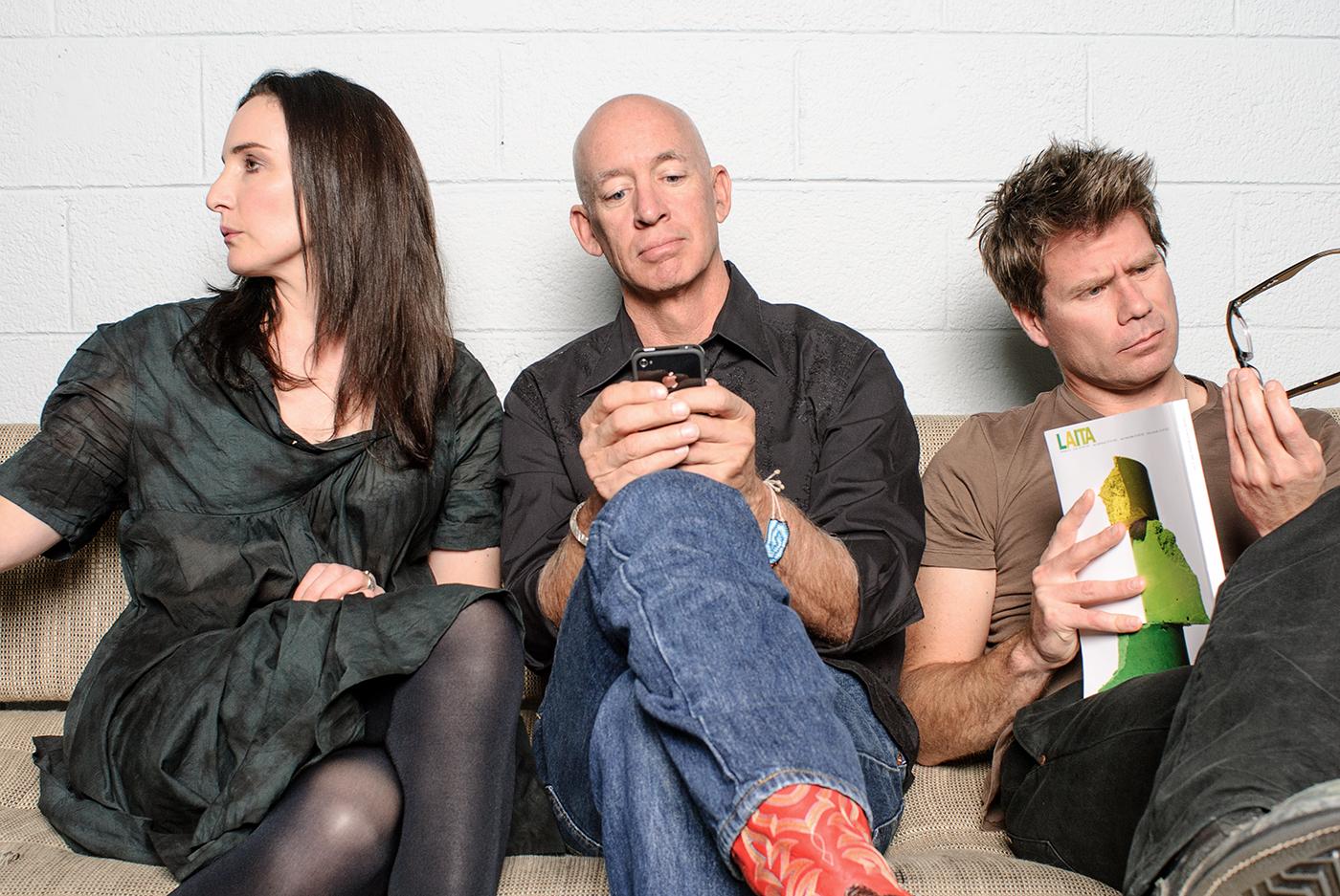 Claudia Batten, John Winsor & Evan Fry  Founders at advertising agency Victors & Spoils.