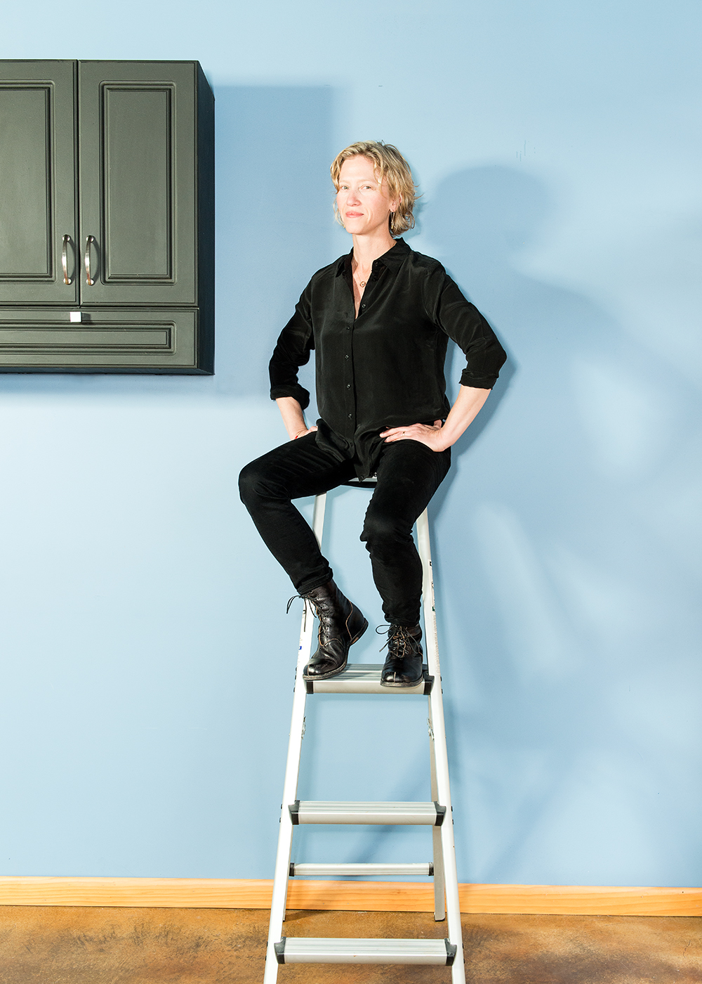 Julie Rothschild  Julie photographed on location in her Studio.