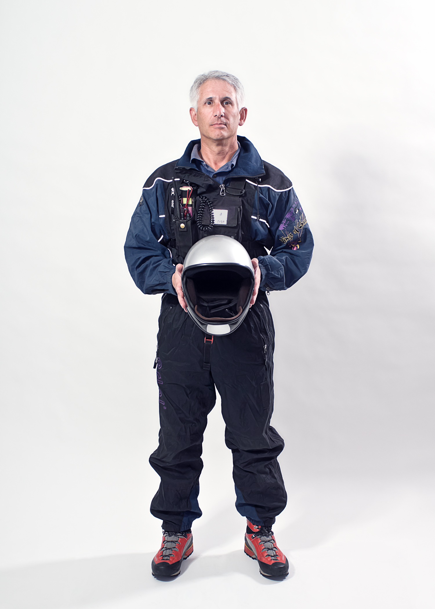 Tim  Paraglider Pilot for the What I Wear To Work portrait series.
