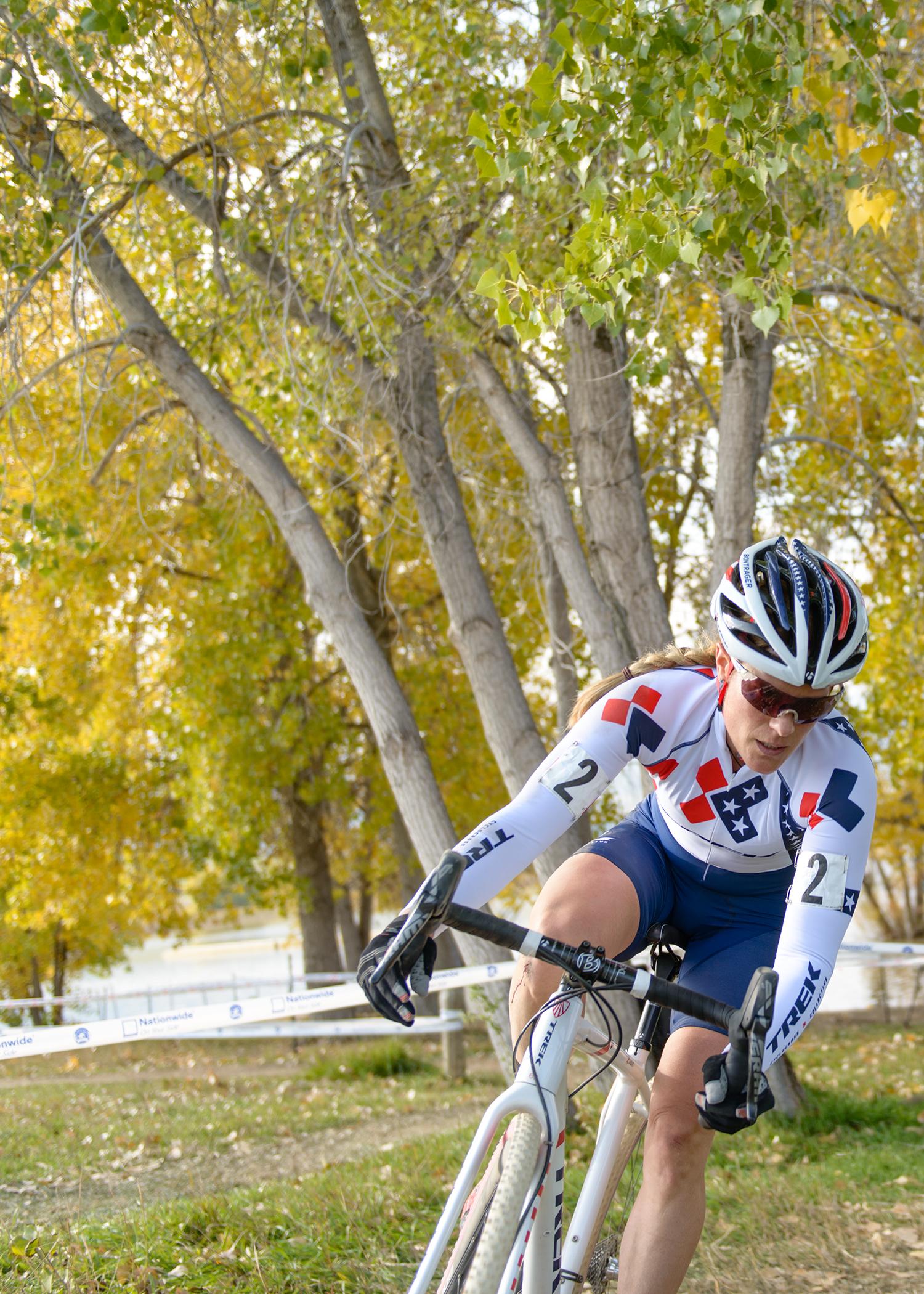 Katie Compton  2013 National CX Champion. Boulder, CO