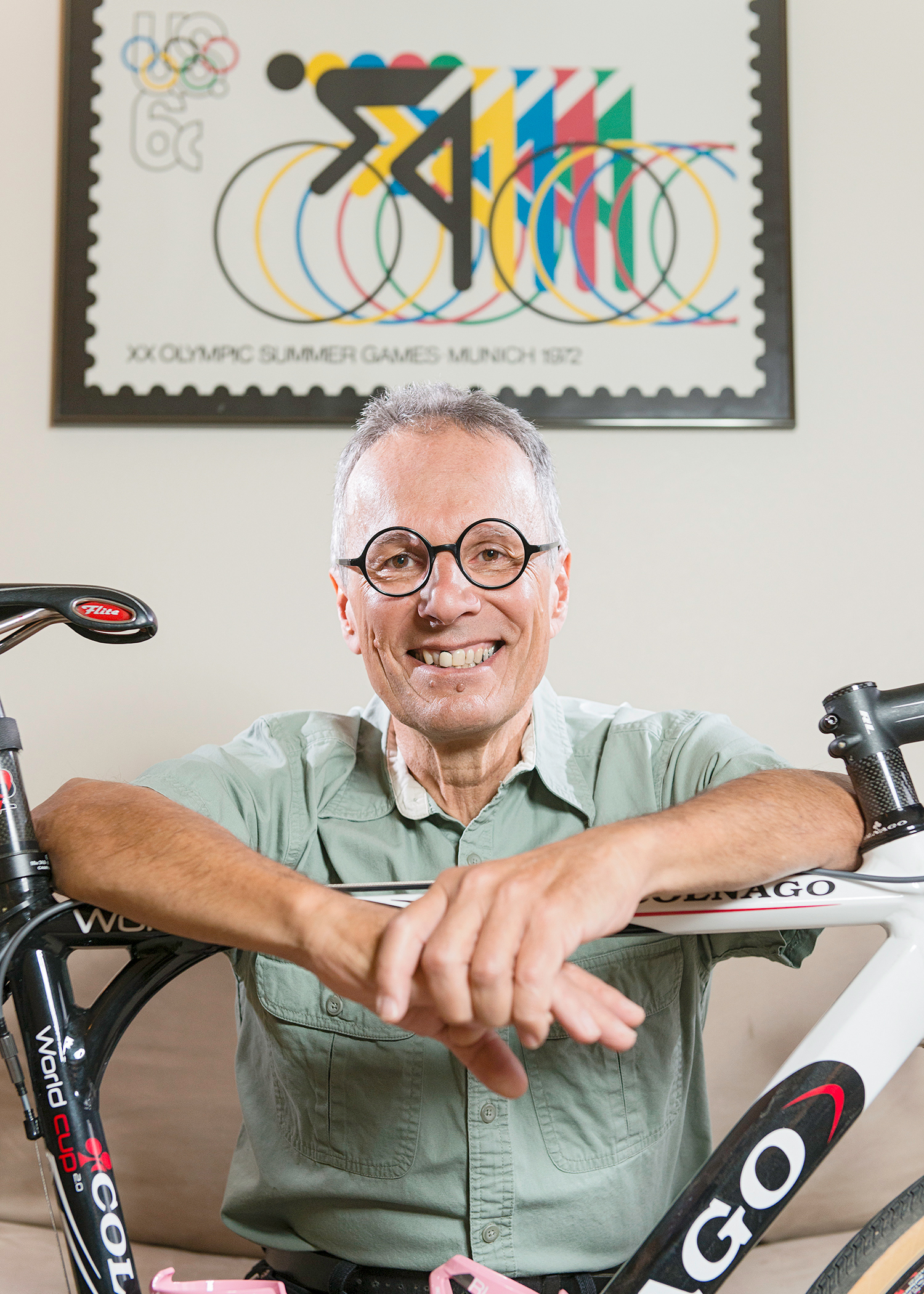 Carl and his Colnago for the My Favorite Bike Portrait Series.