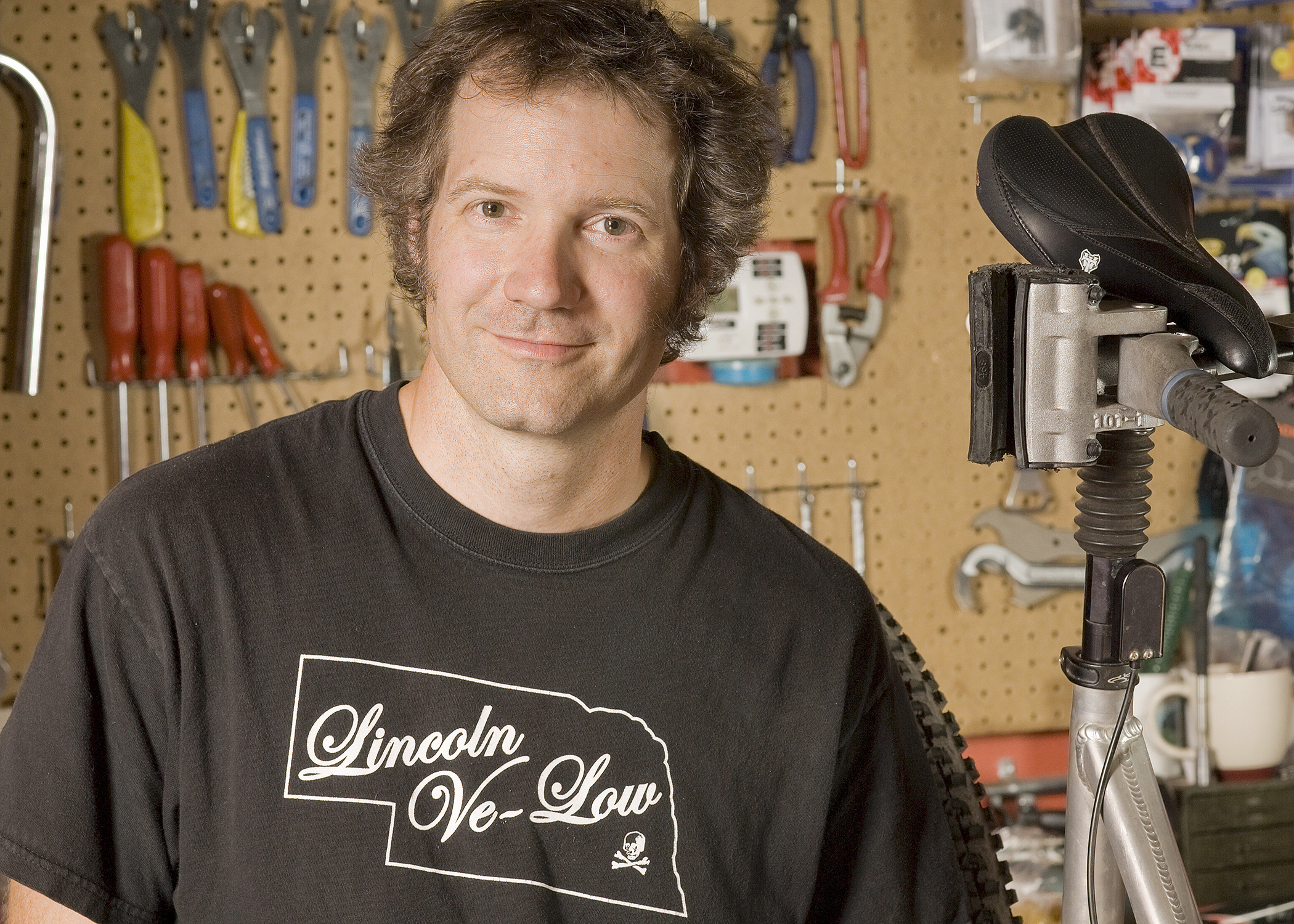Dave and his Intense for the My Favorite Bike Portrait Series on location at Redstone Cyclery in Lyons, CO.