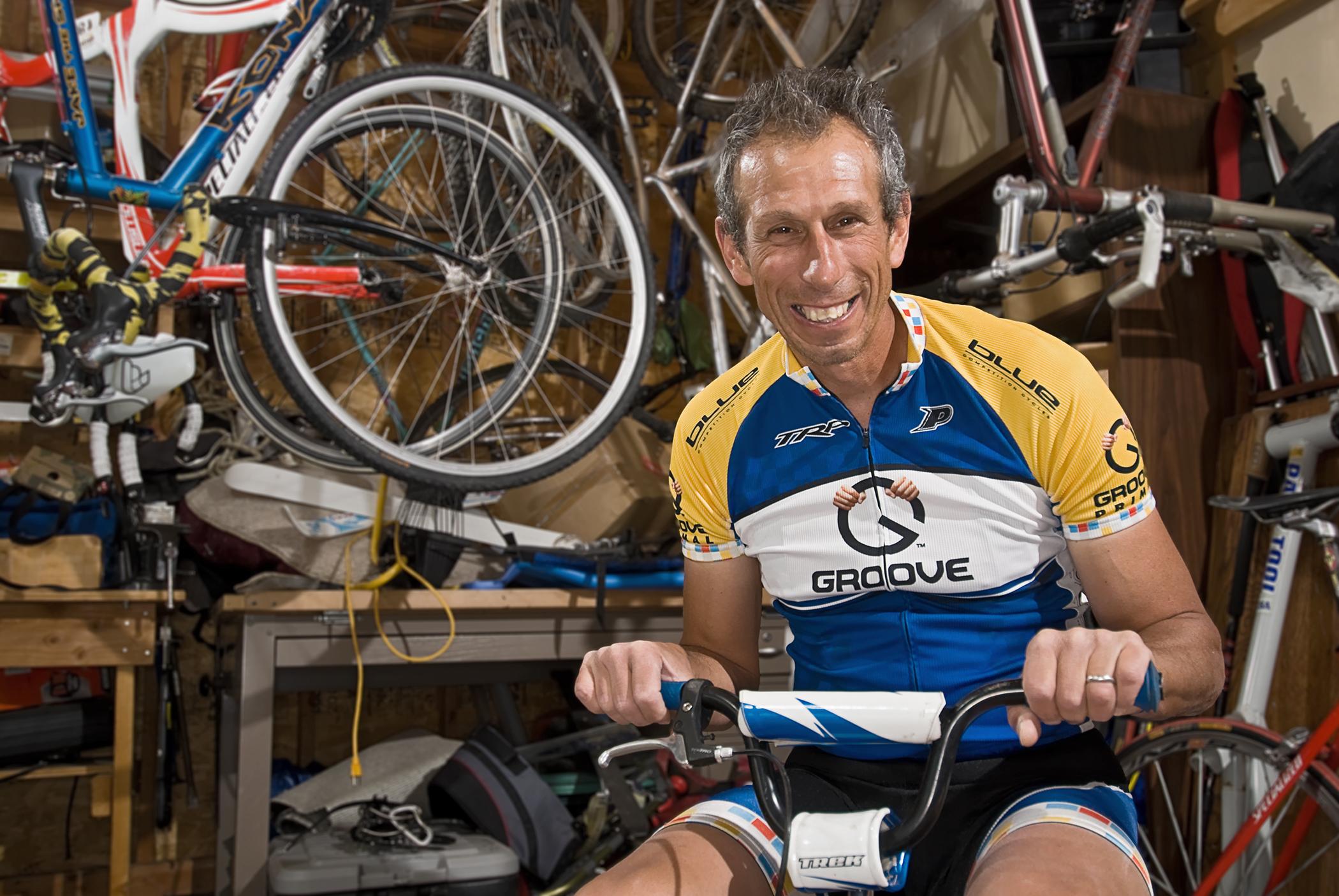 Dejan & his son's Trek for the My Favorite Bike Portrait Series.