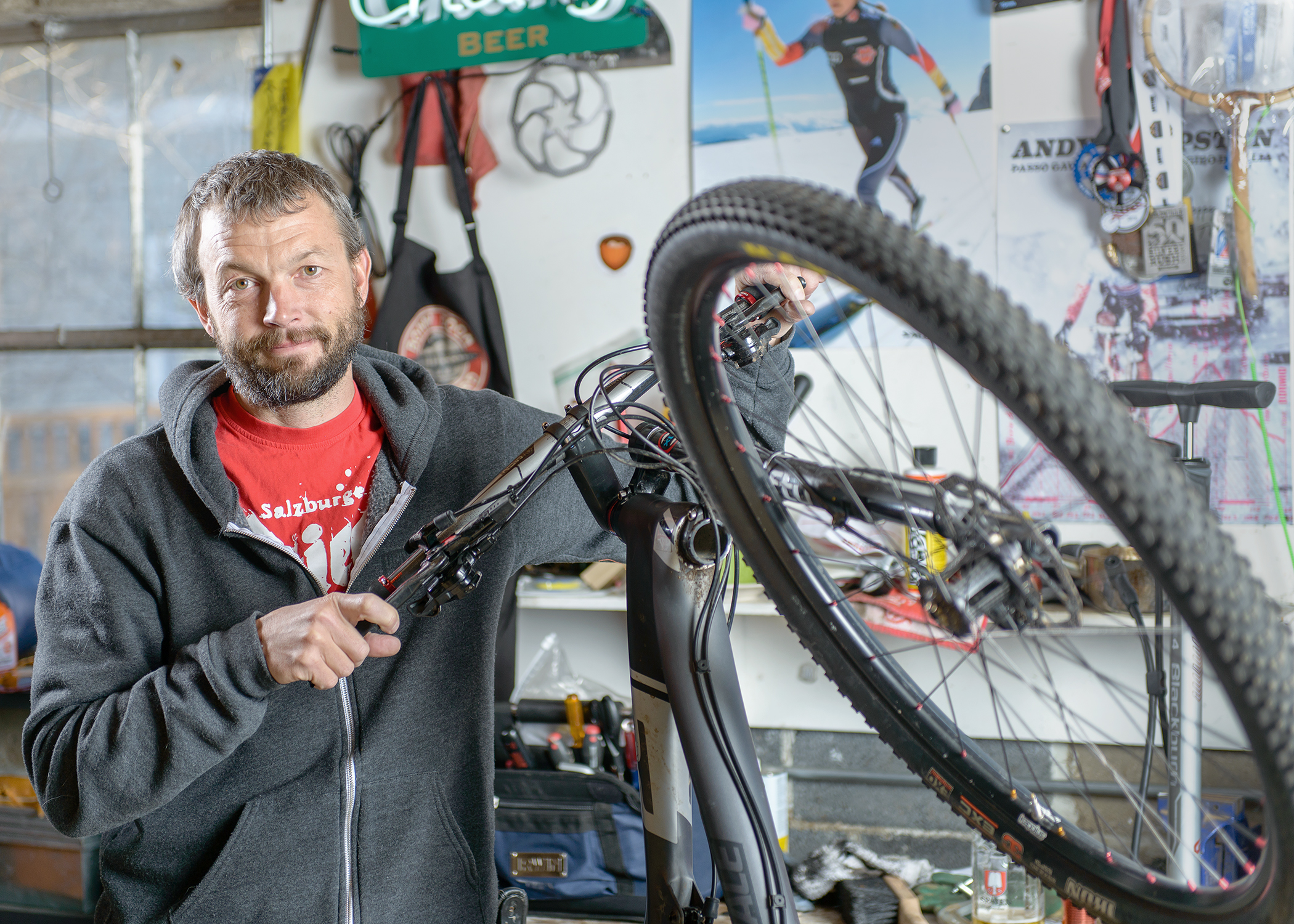 Thomas and his Cannondale for the My Favorite Bike Portrait Series.