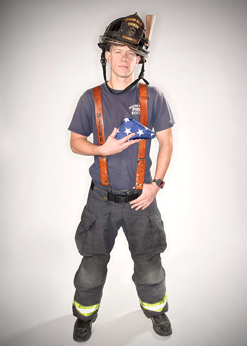 Jake  Firefighter & EMT at the Boulder Rural Fire Department.