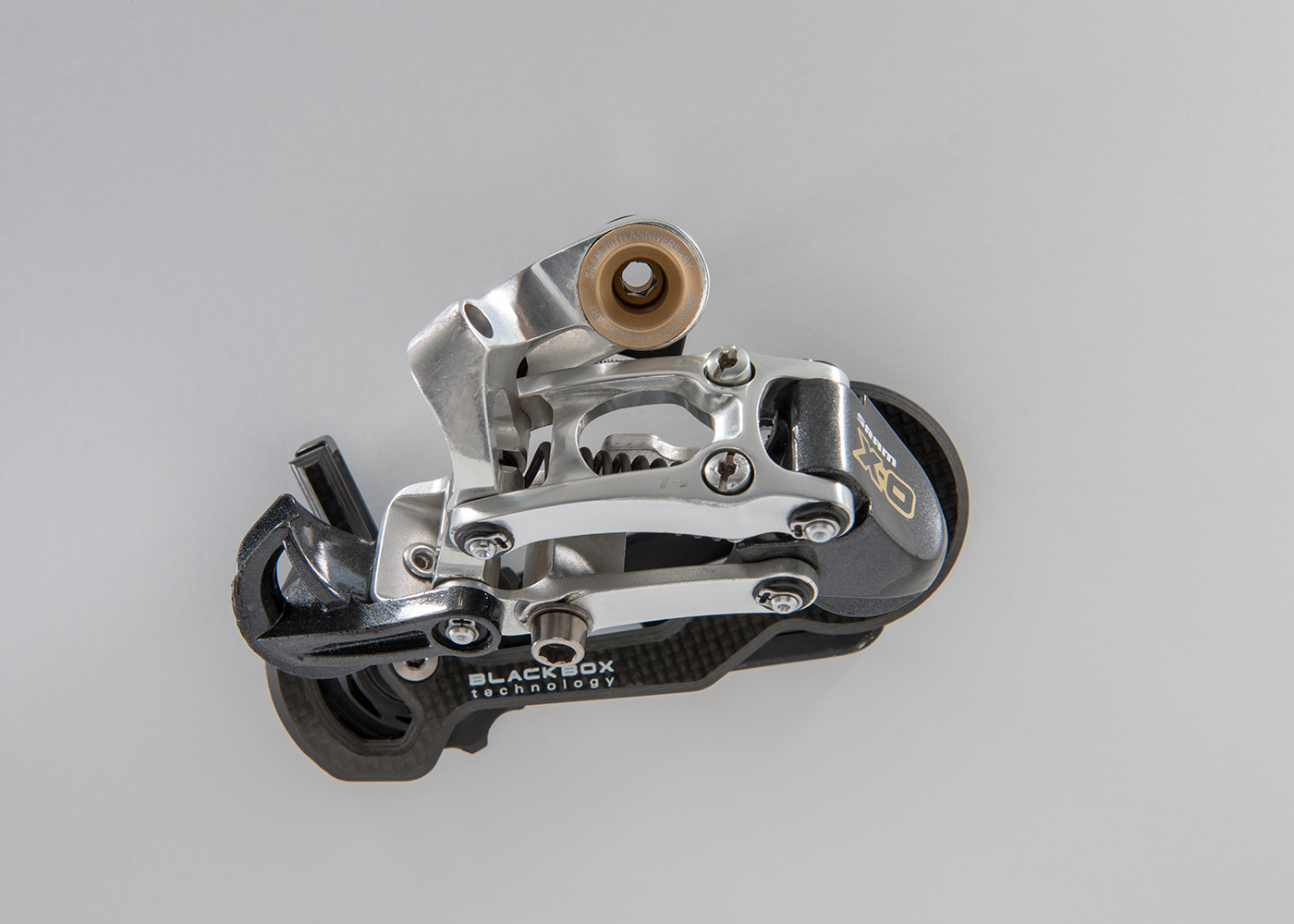 SRAM XO 20th Anniversary  It was introduced in 2007 to celebrate SRAM's 20th anniversary.