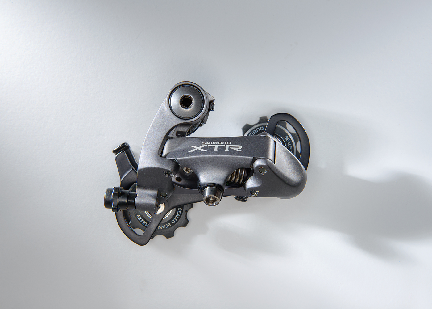 Shimano XTR M950  This is a 3rd generation model and was introduced in 1996