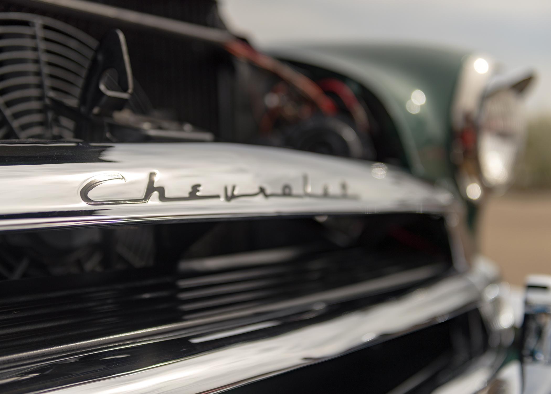Mac's Chevrolet DeLuxe.