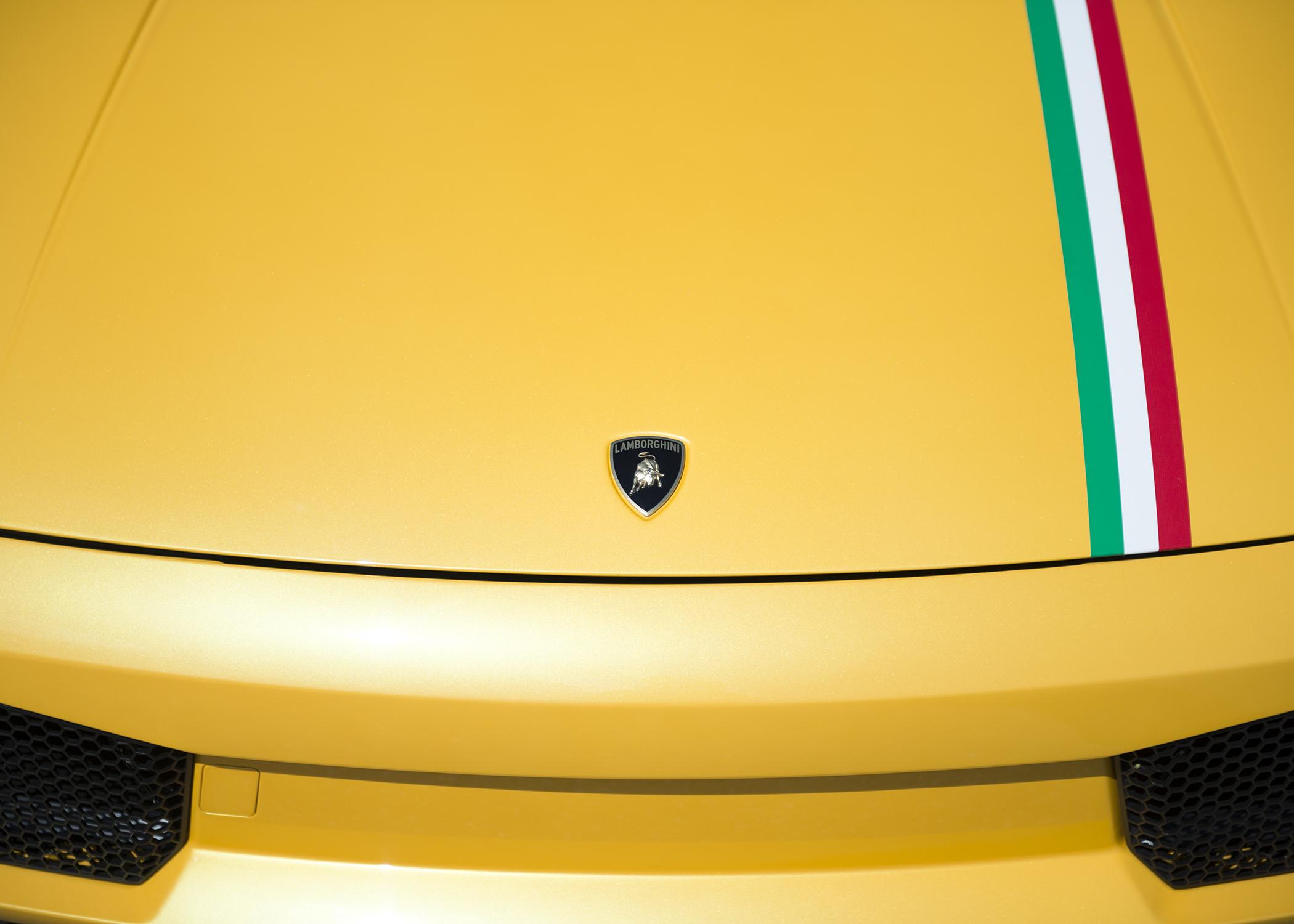 Lamborghini Gallardo Tricolore.
