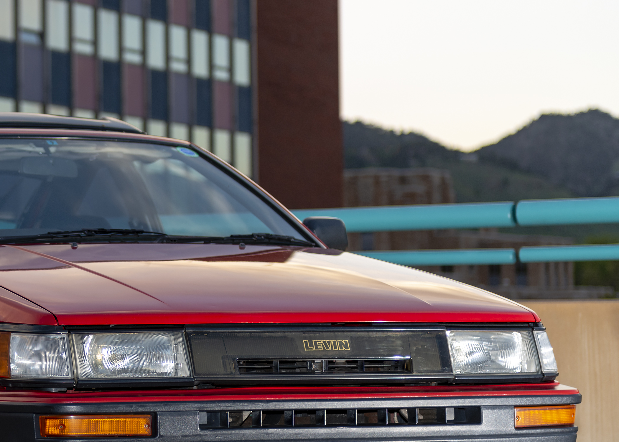 Nathan's Toyota Hachi Roku (86 in Japanese) that he imported from Japan.
