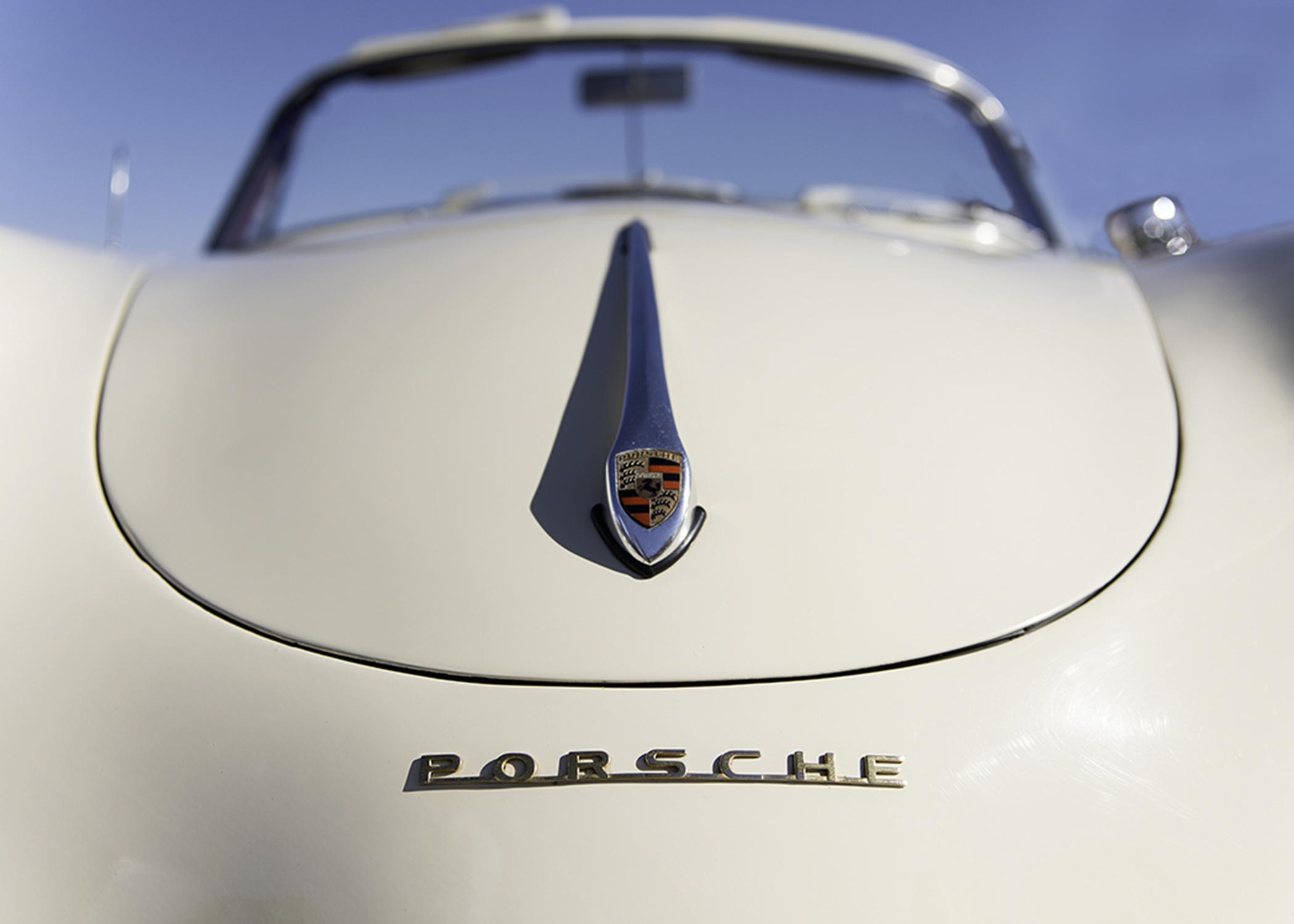 Porsche 356A 1600cc Cabriolet.