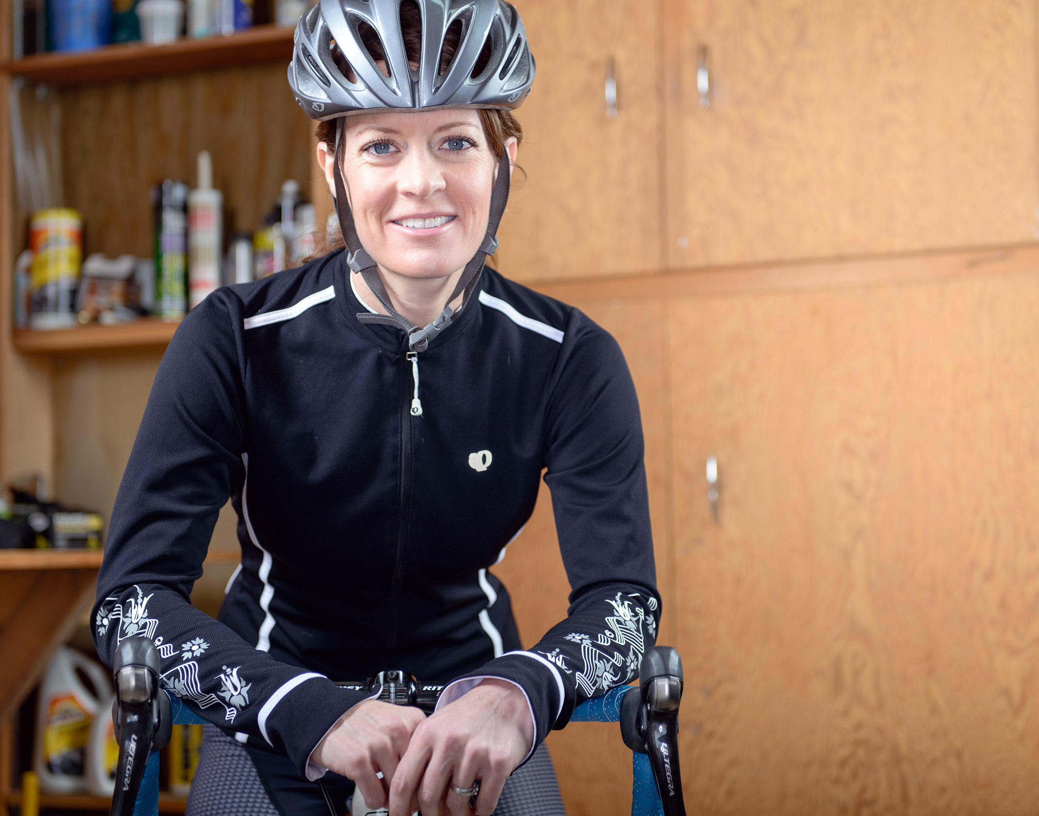 Renee and her Ridley for the My Favorite Bike Portrait Series.