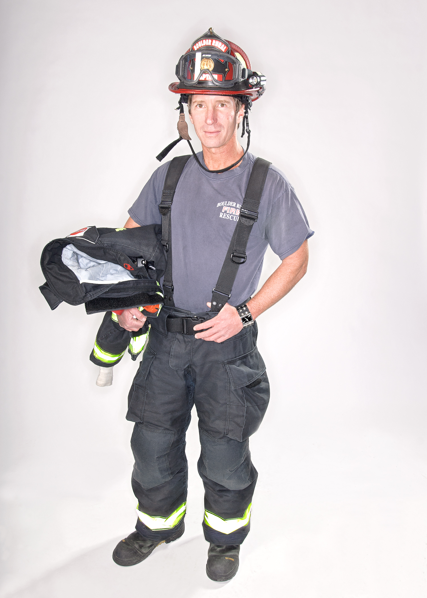 Rob  Fire Captain at the Boulder Rural Fire Department.