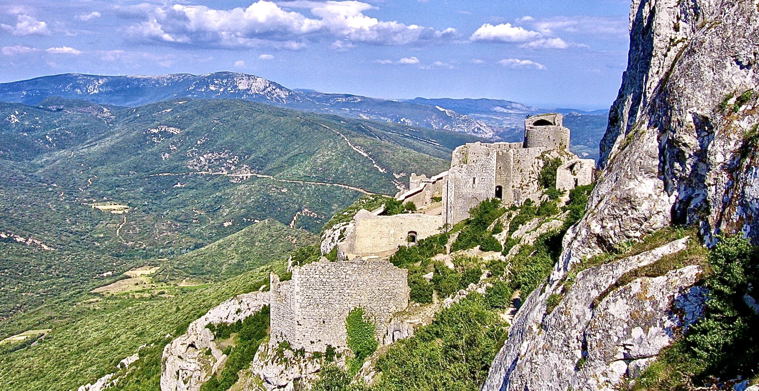 Cathar Castles — J.L.Misener