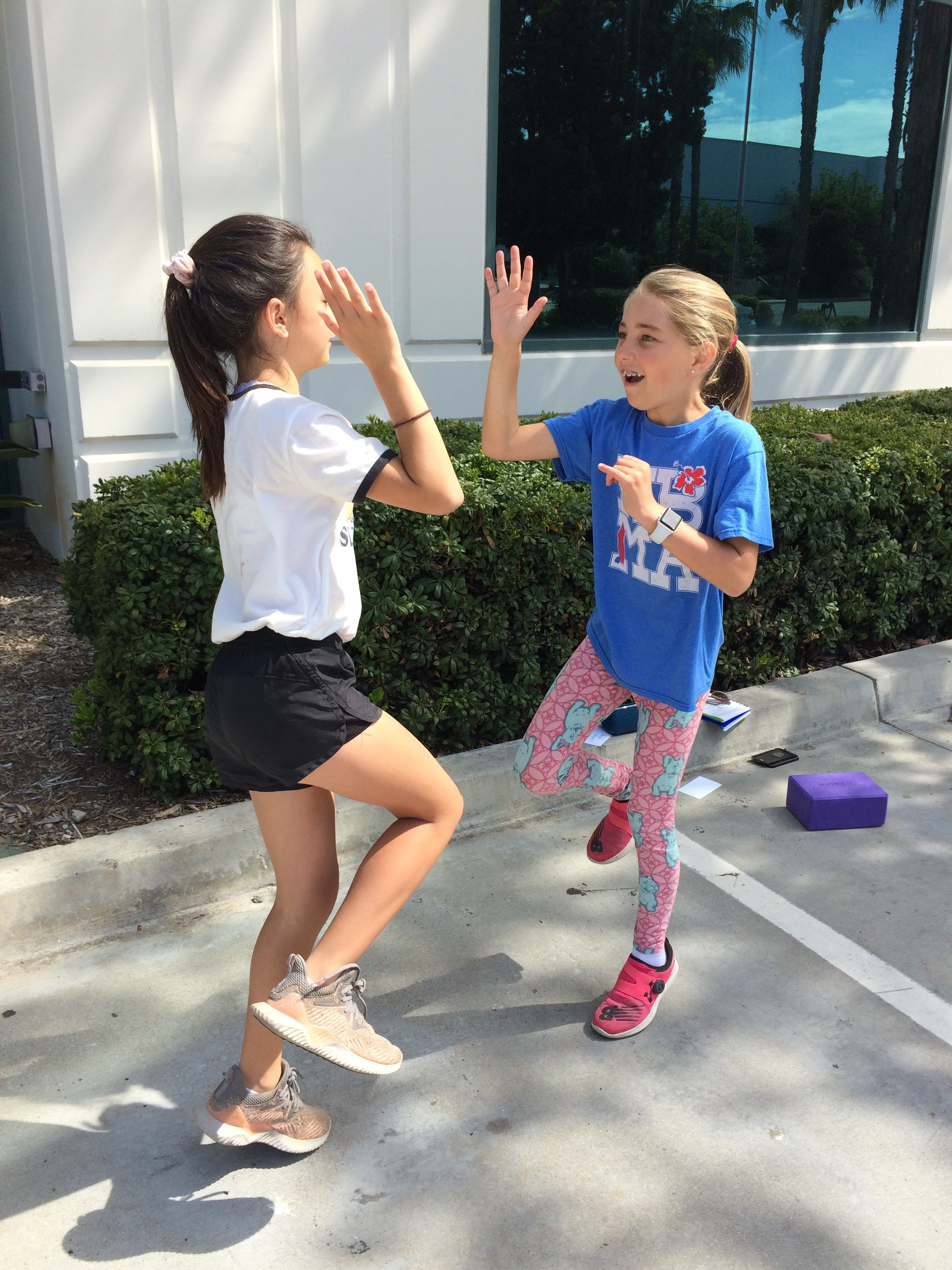 Tweens creating healthy habits at fitness classes