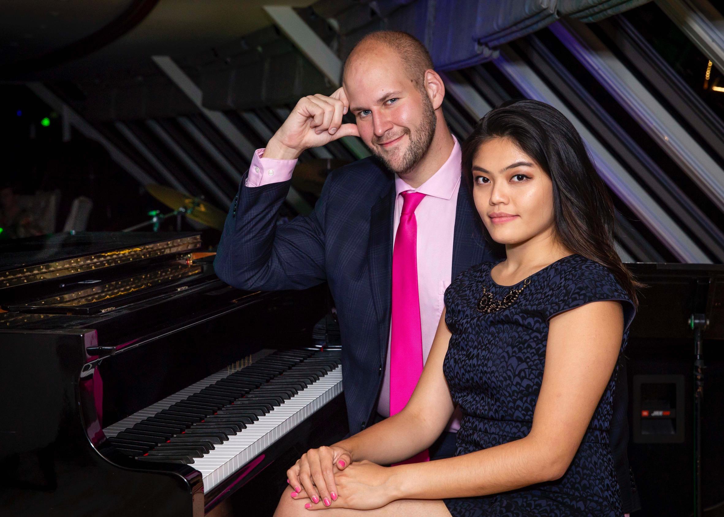 Ben venga amore: Welcome, Love!  Azamara Quest (with pianist Monica Lü)