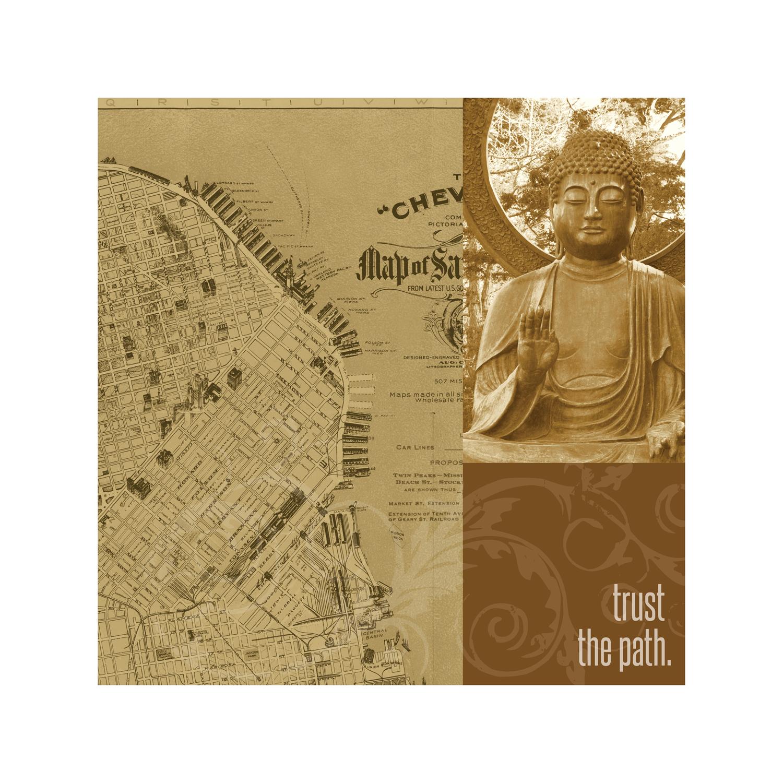 """Trust the Path"" Art Print"