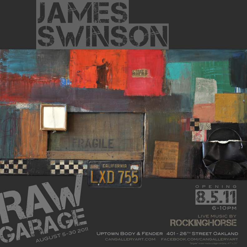 James Swinson, Raw Garage Art Show Poster