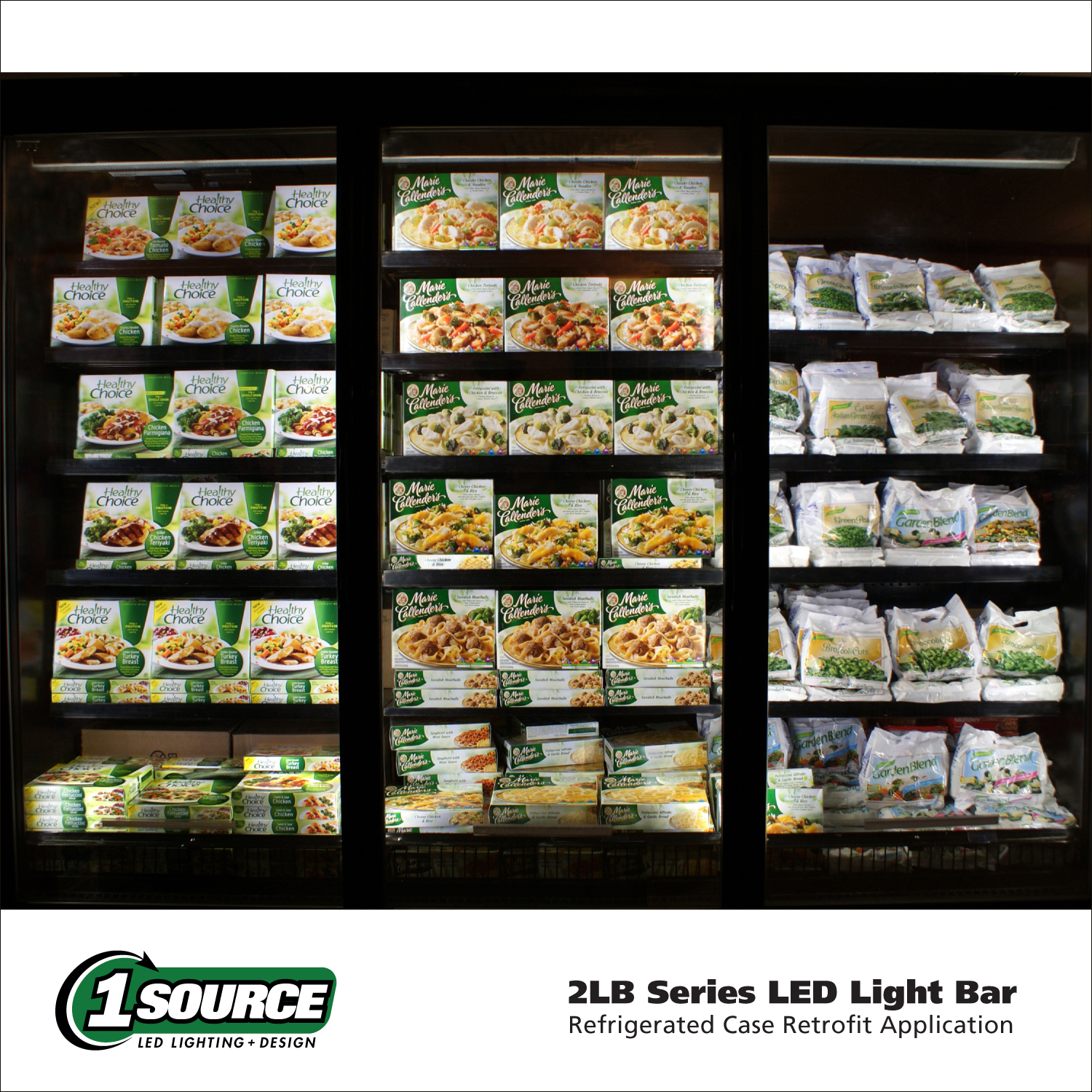 1 Source LED, 2LB Series Light Bar Catalog