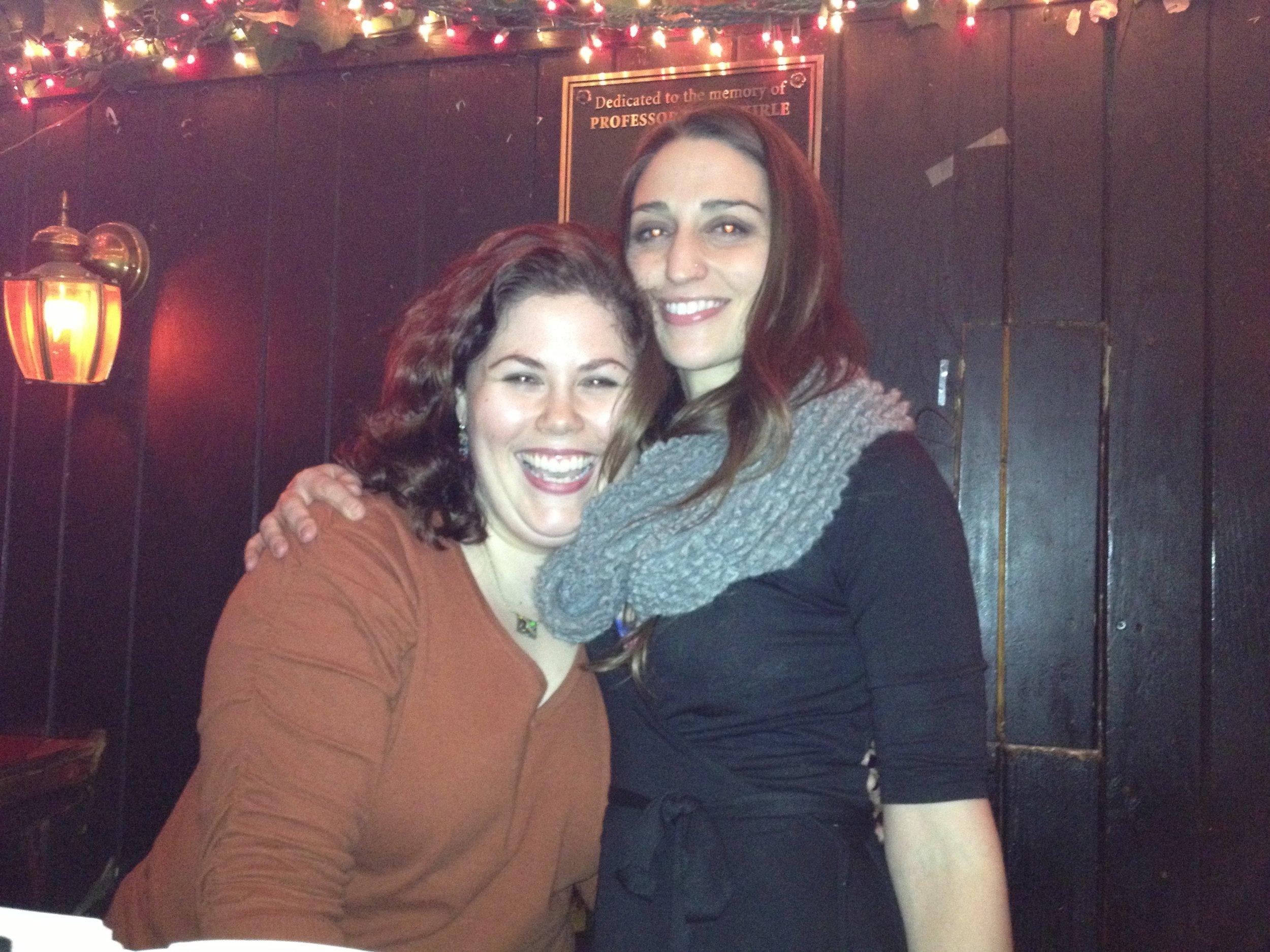 With Sara Bareilles!