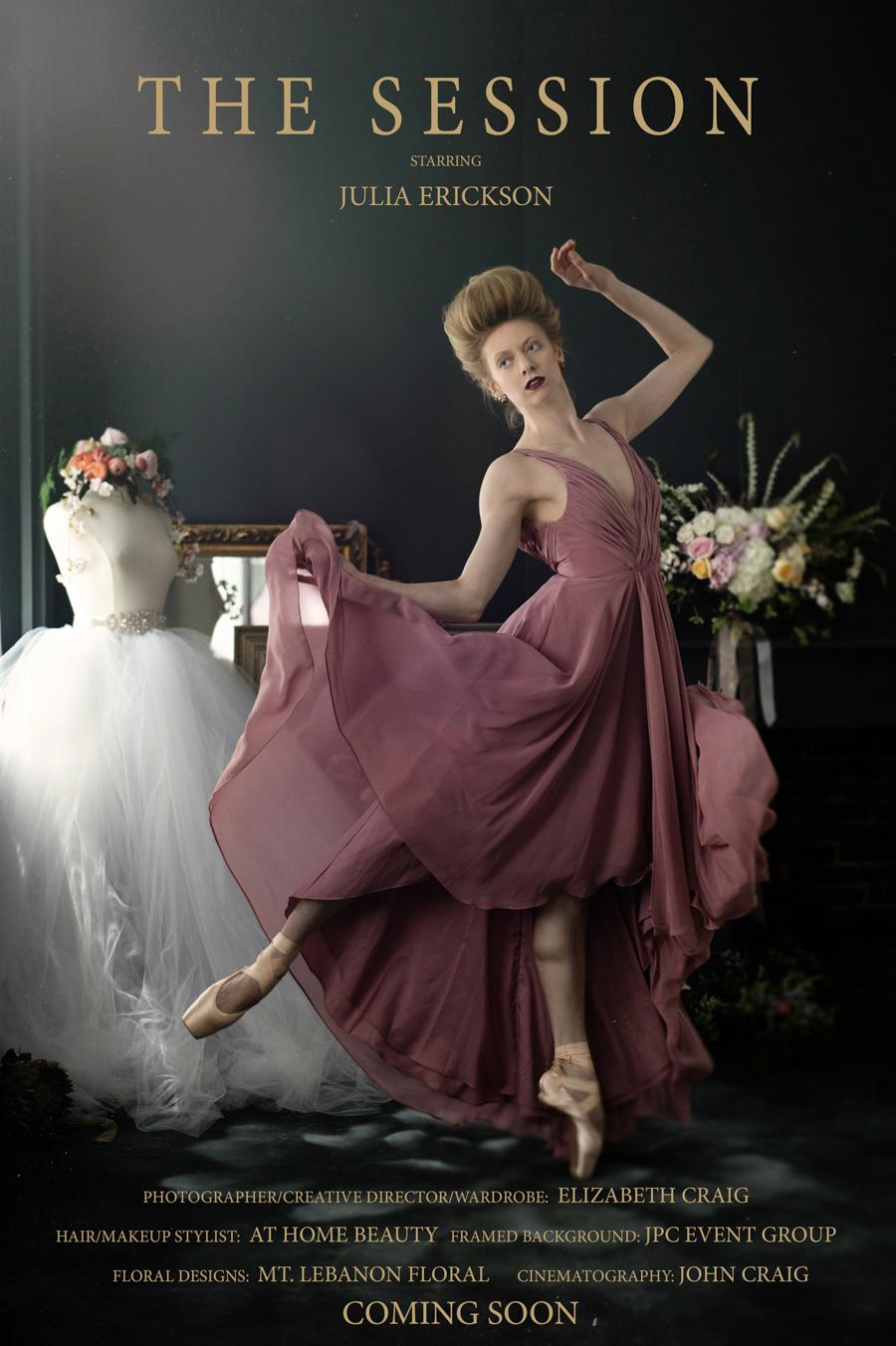 Ballerina Boudoir Photo Session   Elizabeth Craig Photography-1