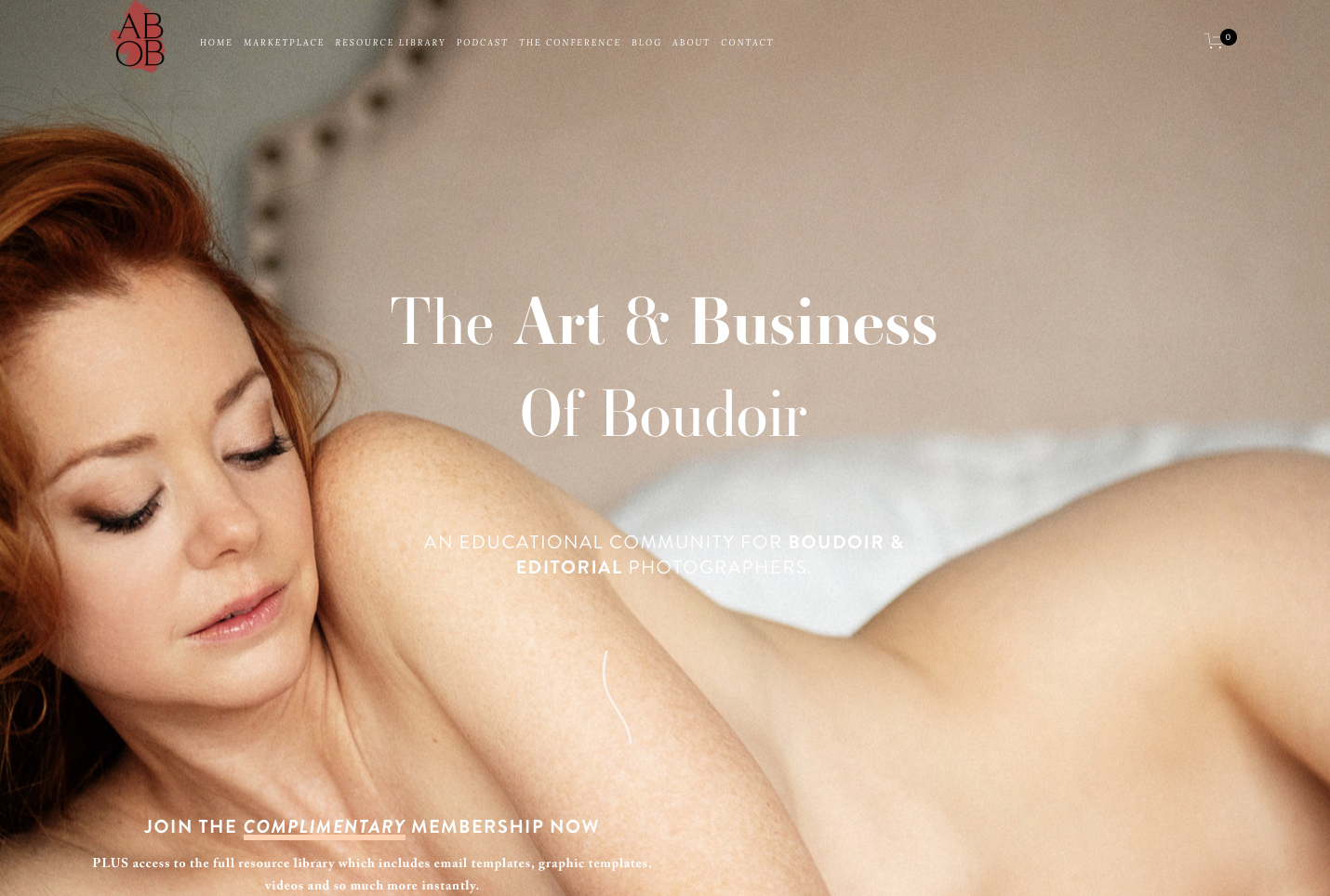 The Art & Business of Boudoir