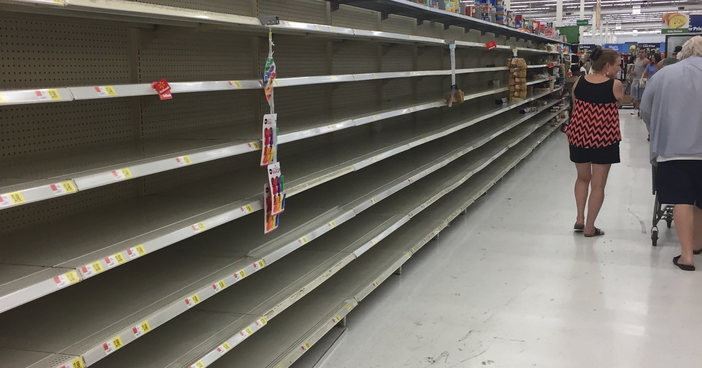 Everyone is Keto, Whole30, or Gluten-free until the threat of a Hurricane