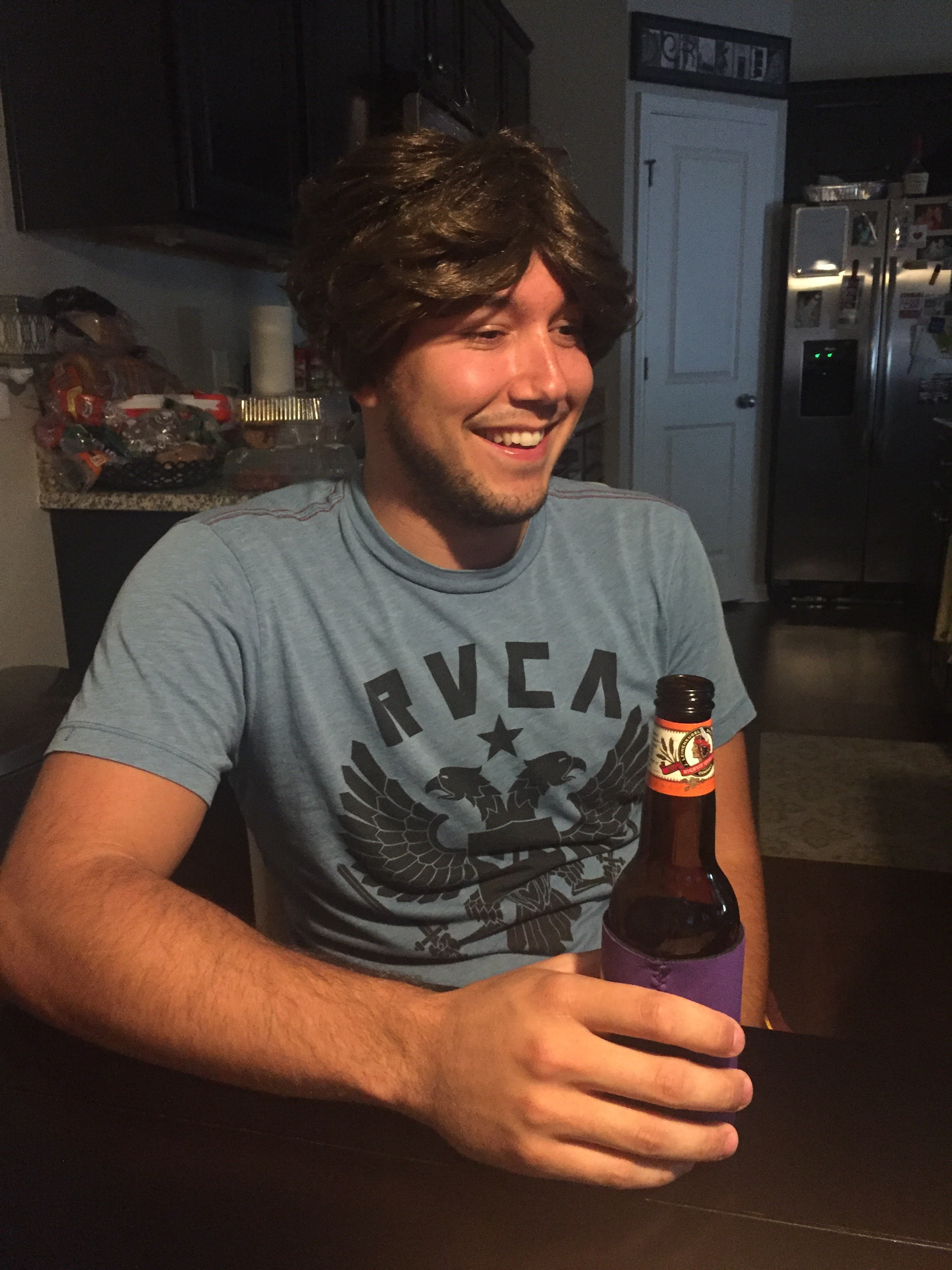 Wigs and beer