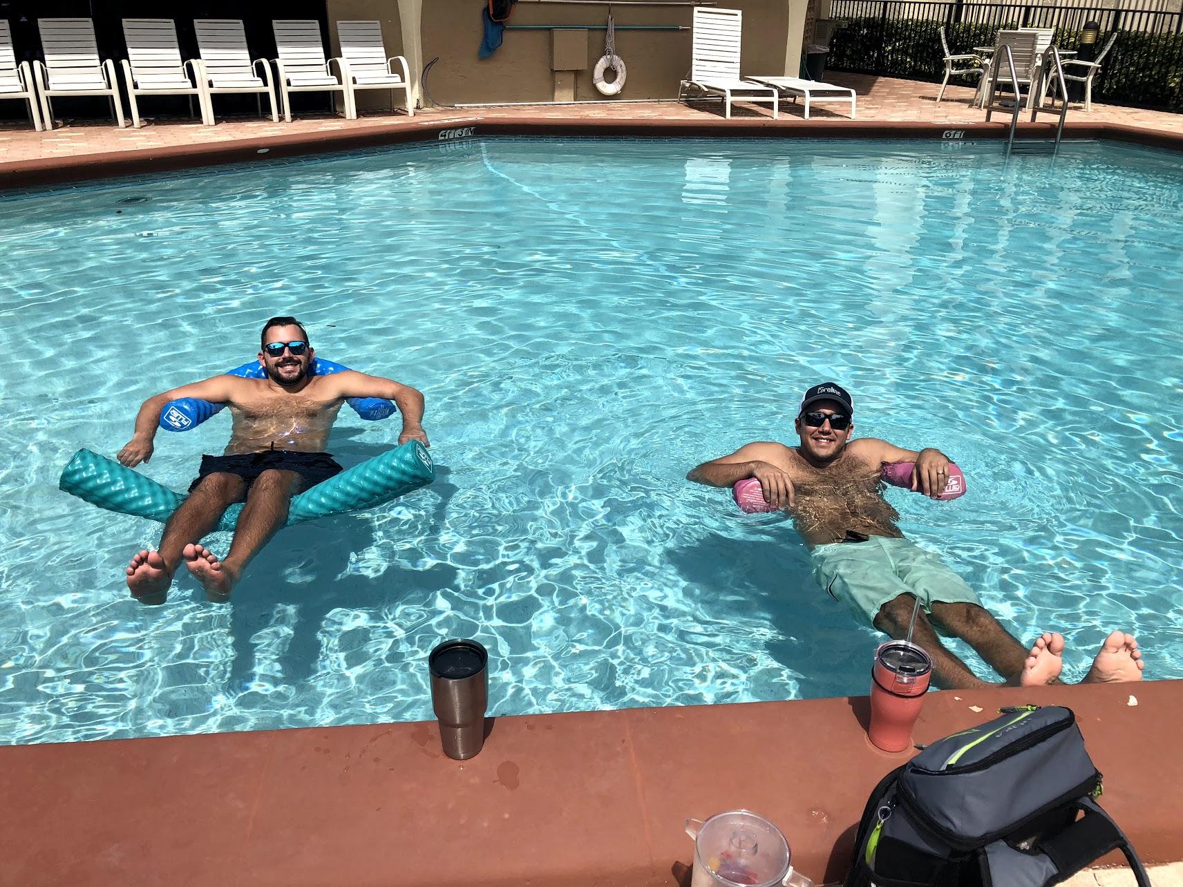 Boca Raton pool day