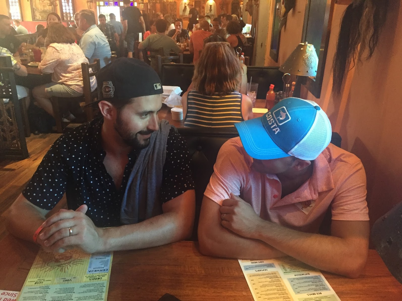 bromance at Taco Boy