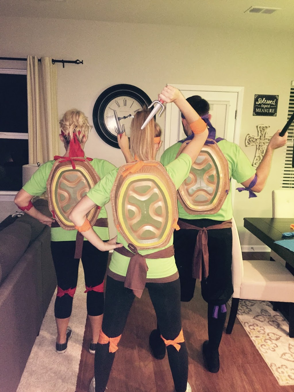 Turtle in a half shell