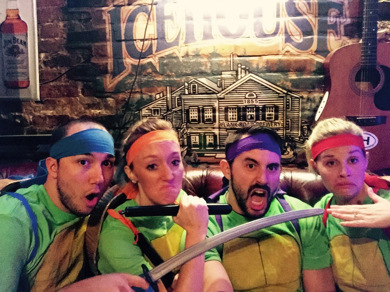 badass ninja turtles
