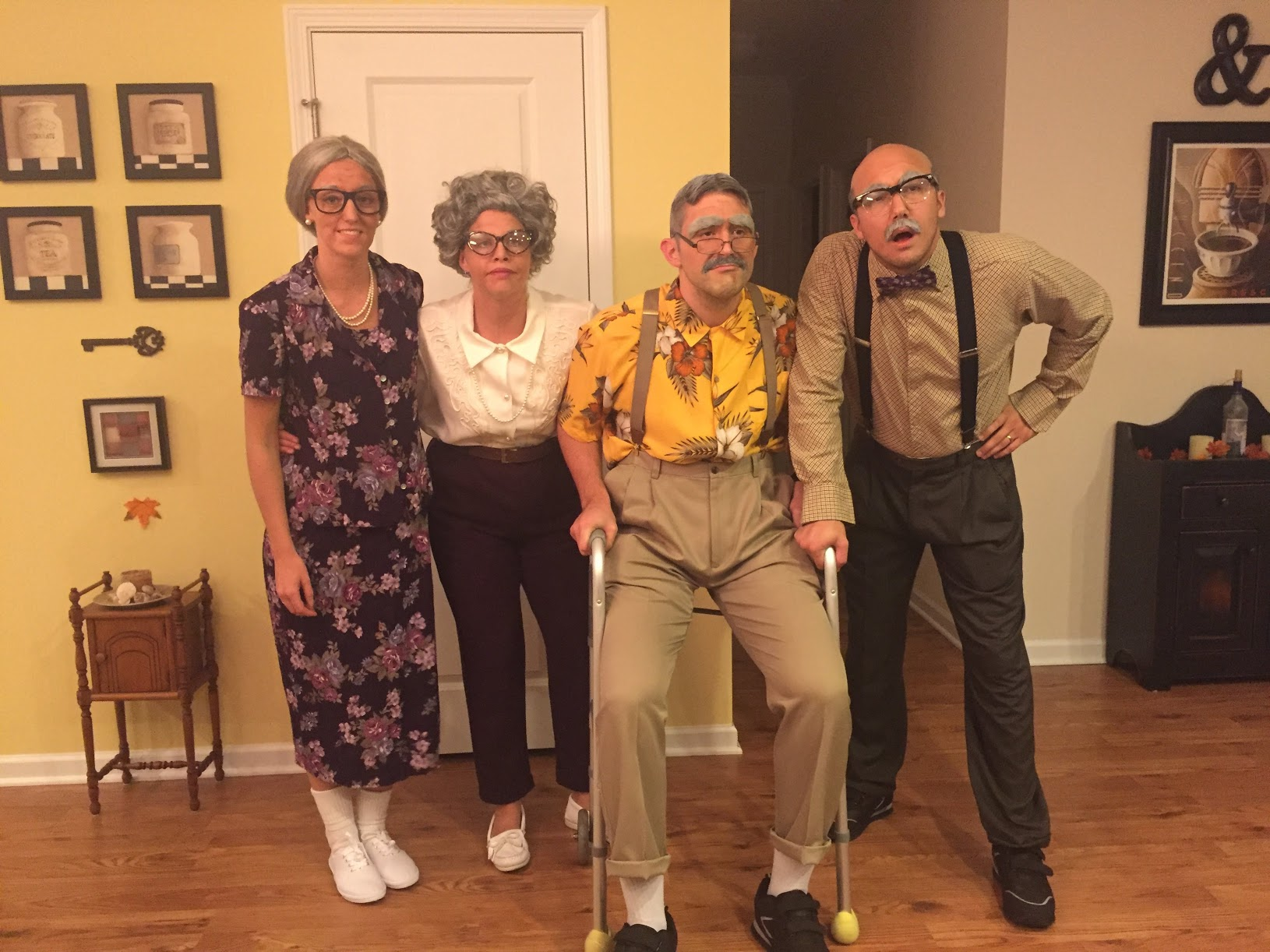 old people costumes