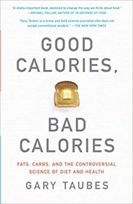 For decades we have been taught that fat is bad for us, carbohydrates better, and that the key to a healthy weight is eating less and exercising more. Yet despite this advice, we have seen unprecedented epidemics of obesity and diabetes. Taubes argues that the problem lies in refined carbohydrates, like white flour, easily digested starches, and sugars, and that the key to good health is the kind of calories we take in, not the number.