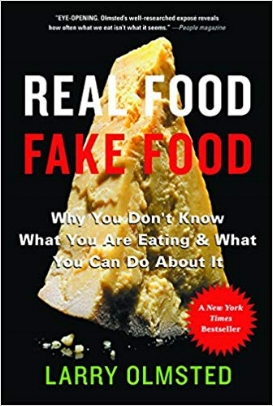 You've seen the headlines: Parmesan cheese made from wood pulp. Lobster rolls containing no lobster at all. Extra-virgin olive oil that isn't. So many fake foods are in our supermarkets, our restaurants, and our kitchen cabinets that it's hard to know what we're eating anymore. In  Real Food / Fake Food,  award-winning journalist Larry Olmsted convinces us why real food matters and empowers consumers to make smarter choices.