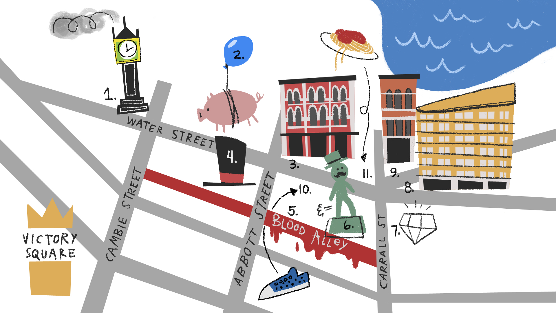 Gastown Tour Map!