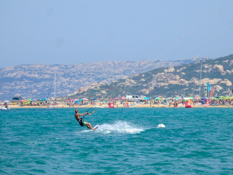 Kitesurfing in Porto Pollo