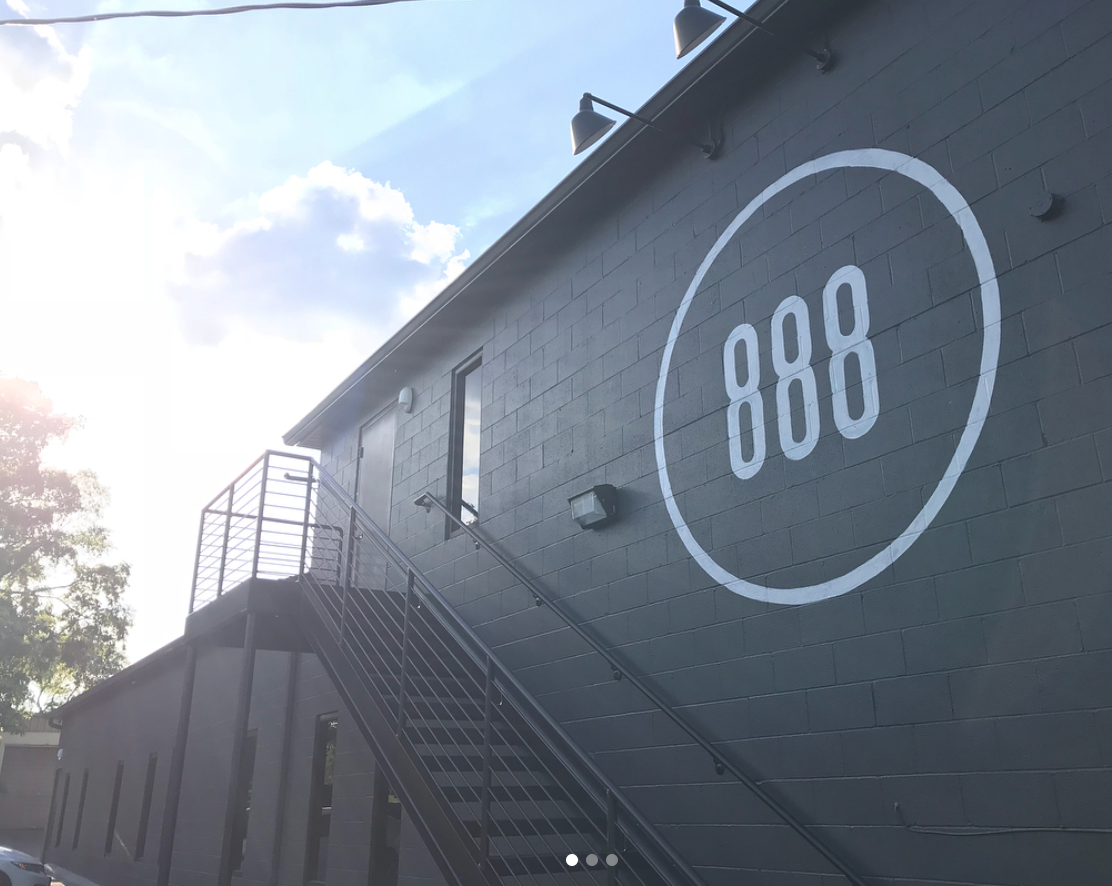 Large Mural for 888 Management in Nashville, TN