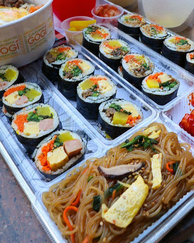 Seoul Mix 2.0 is now serving Premium Kimbap aka Korean Sushi Rolls! 🍙🍙🍙 #seoulmix