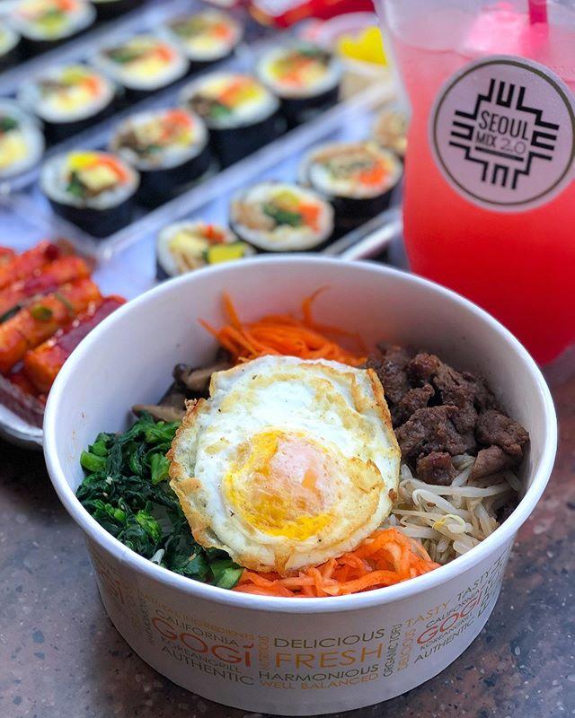 If you like it, you should put an egg on your Bibimbop. 🍳 #seoulmix