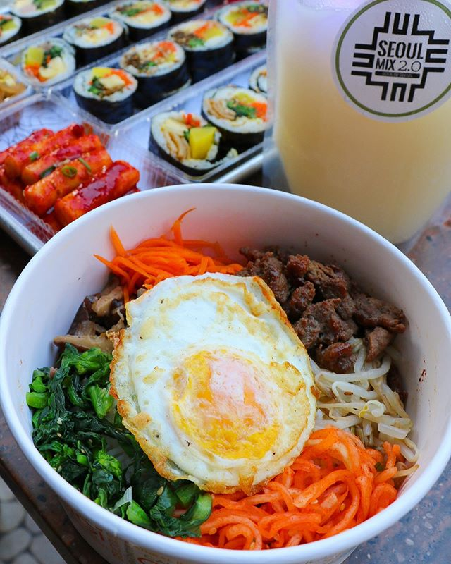 🤖: You make my heart go bi-bim-bap. ❤️🍙 #seoulmix
