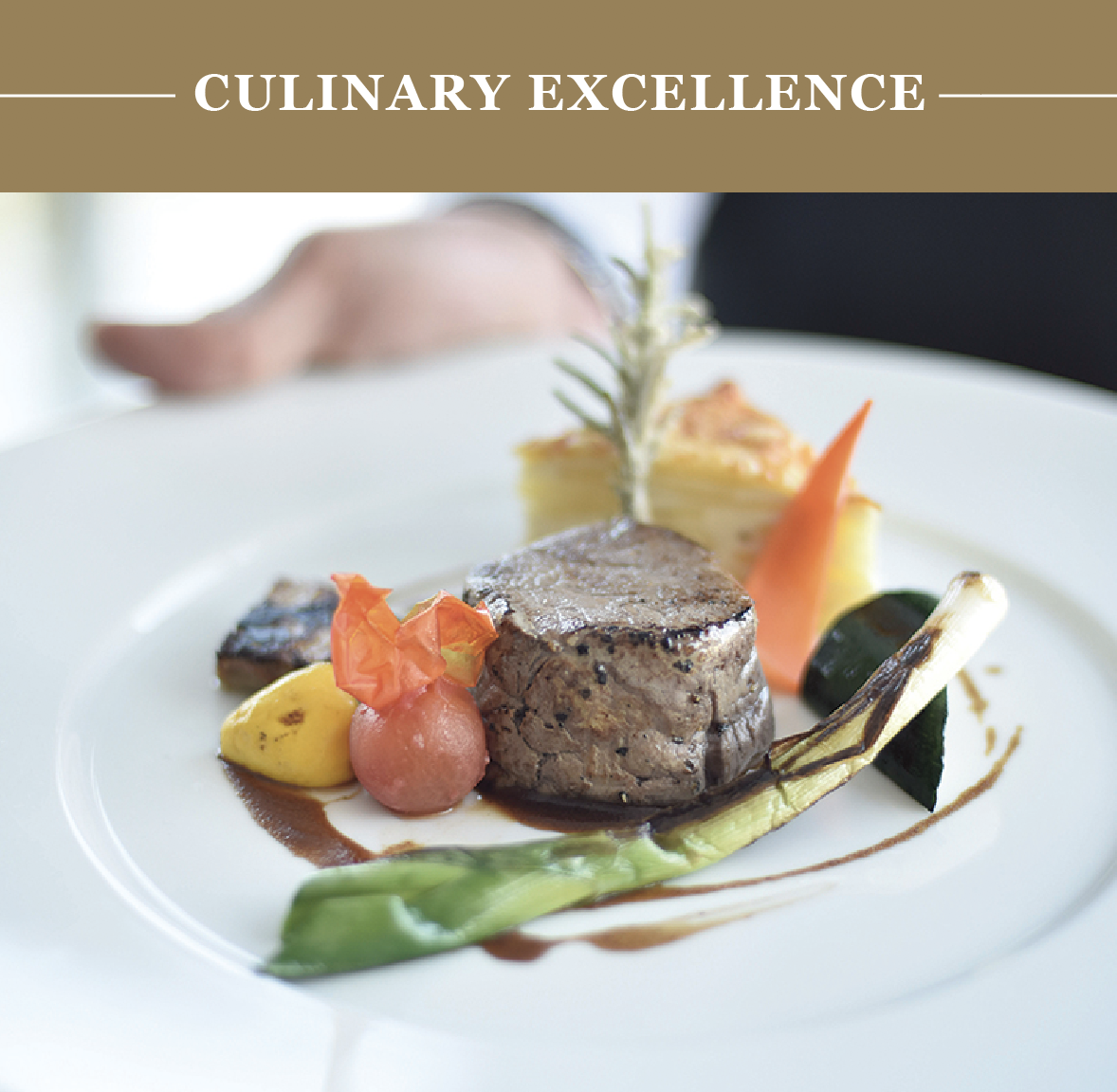 Enjoy on board five star onboard cuisine, culinary excursions, welcome a Michelin-starred chef, and dine in restaurants handpicked for you.