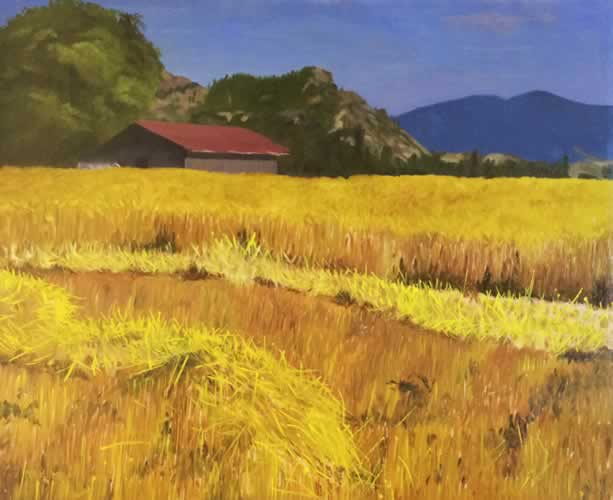 Wheat Field between Winthrop and Twisp